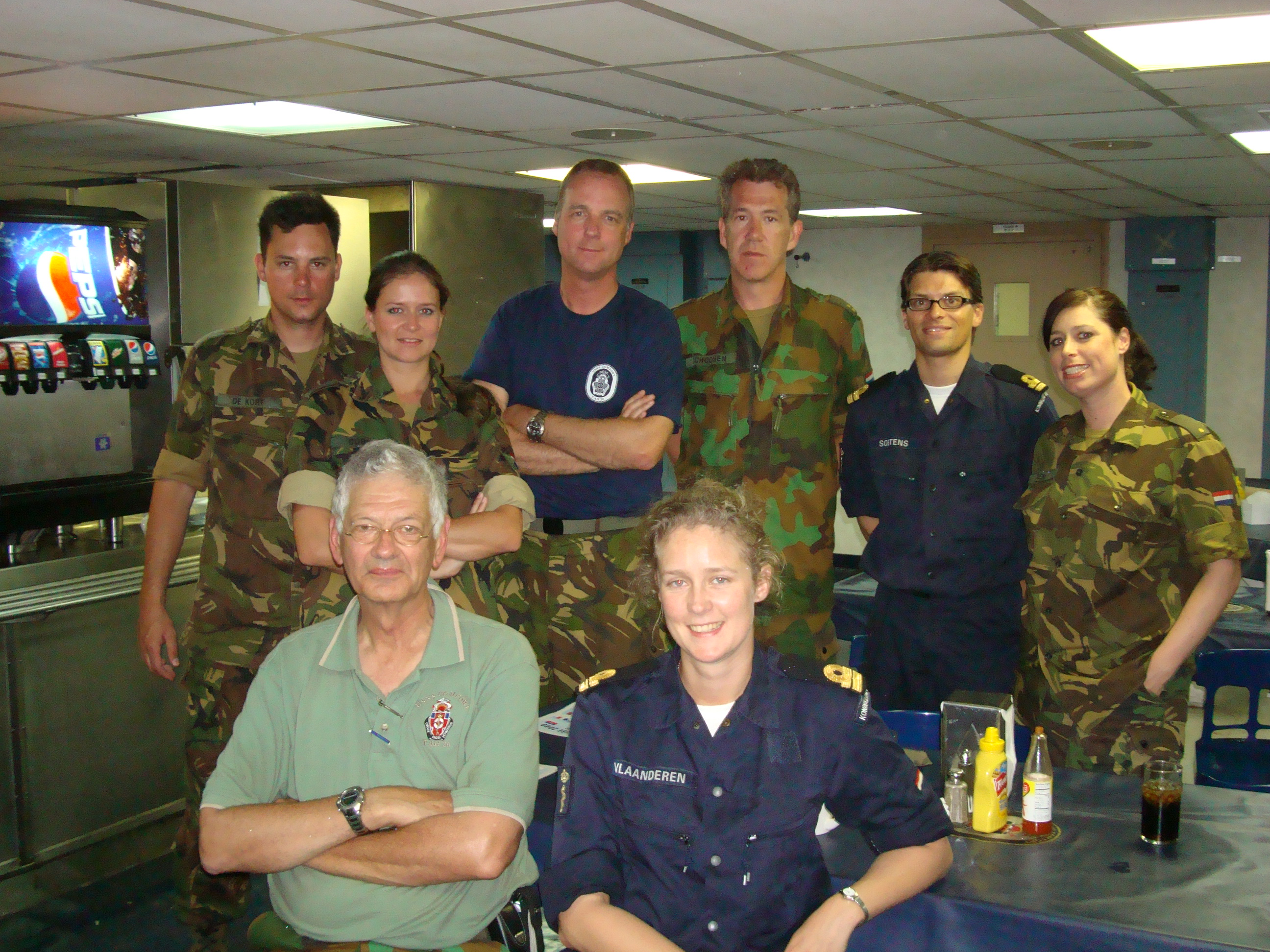 BZ to the Dutch Onboard USNS COMFORT