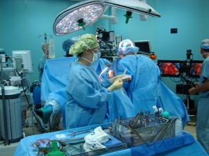 One of COMFORT's 12 operating rooms. photo by Jim Dolbow.