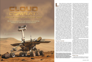 Cloud Combat: Thinking Machines in Future Wars