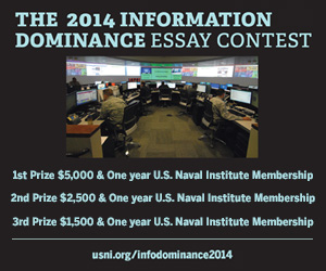 2014 Information Domination Essay Contest