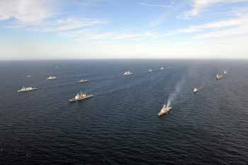 On 7 June 2015 Maritime Forces from 17 nations gather together for BALTOPS 2015. BALTOPS is an annually recurring multinational exercise designed to enhance flexibility and interoperability, as well as demonstrate resolve of allied and partner forces to defend the Baltic region.