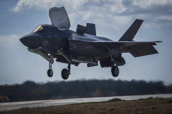 F-35B training aboard MCAS Beaufort