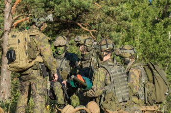 Finnish Marines conduct training during BALTOPs 2016. Finnish Navy photo