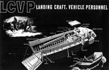 Illustration of an LCVP. U.S. Naval Institute
